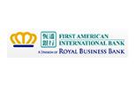 First American International Bank