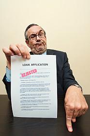 Loan Officer Loan Application rejected