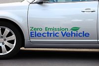 Electric Car Zero Emissions