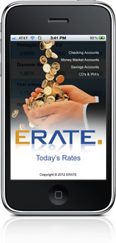 ERATE Savings Rates iPhone App