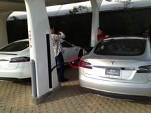 Tesla Model S Super Charger Hawthorne CA
